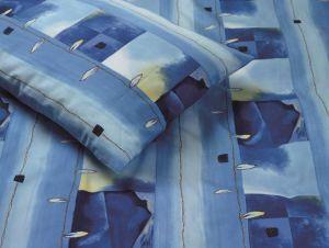 Bettwäsche SAHARA blue